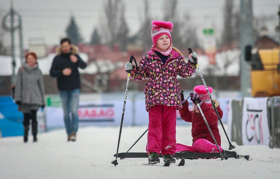 Olympijský festival v Ostravě, neděle 11. února 2018, běžky