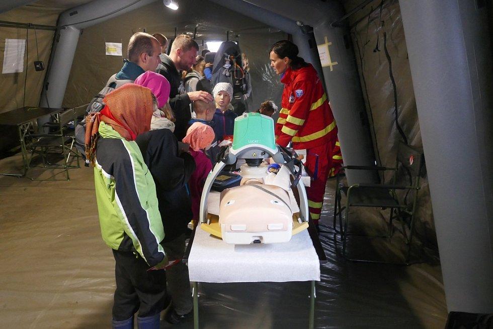 Zdravotnická záchranná služba MSK na Dnech NATO 2017.