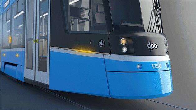 Nová tramvaj pro Ostravu.