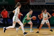 Český pohár v basketbalu žen, čtvrtfinále: SBŠ Ostrava - KP Brno, 8. ledna 2020 v Ostravě.