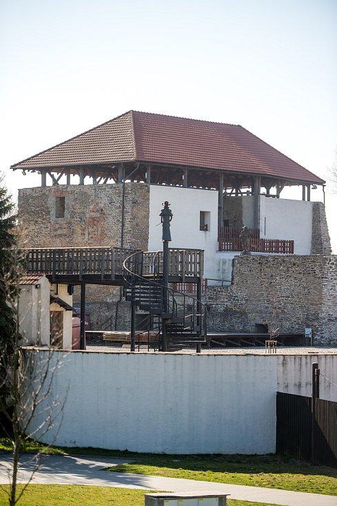 Slezskoostravský hrad.