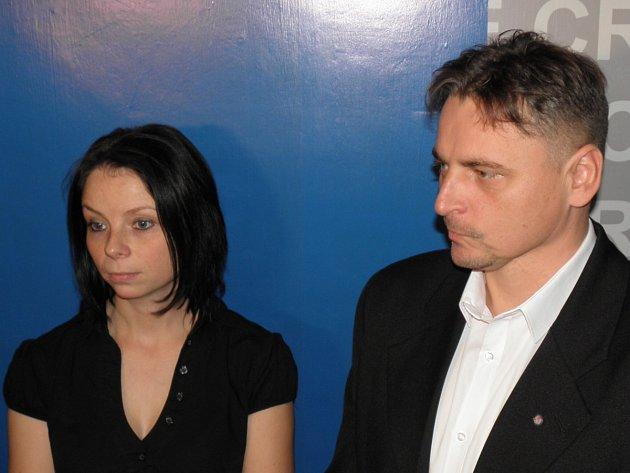 KRIMINALISTÉ Radka Maršálková a Vladimír Zetek informovali o objasnění závažného sexuálního případu.