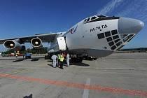 Velké transportní letadlo Iljušin IL-76