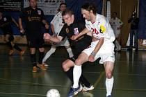 Snímek z finálovému duelu futsalové ligy Jistebník - Chrudim
