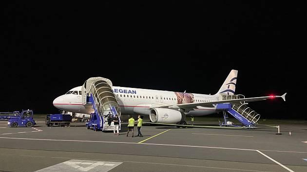 Ve středu 23. června 2021 v brzkých ranních hodinách odletělo první letadlo na trase mezi ostravským letištěm a řeckou Soluní.