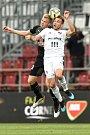 Finále fotbalového poháru MOL Cupu: FC Baník Ostrava - SK Slavia Praha, 22. května 2019 v Olomouci. Na snímku (zleva) Frydrych Michal a Kuzmanovič Nemanja.