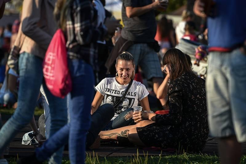 Karolina Oktobeerfest, 13. října 2018 v Ostravě.