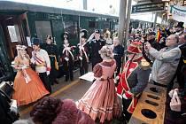 U příležitosti oslav 170. výročí příjezdu prvního vlaku po Severní dráze císaře Ferdinanda do Bohumína vypravily České dráhy parní vlak vedený lokomotivou 475.101 z Přerova do Bohumína a zpět.