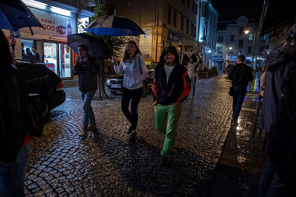 Stodolní ulice v Ostravě v pátek 25. září 2020.