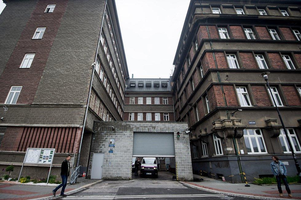 Budova Vězeňské služby ČR - vazební věznice.
