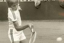 Majitel fotbalového klubu Baník Ostrava Tomáš Petera se v mládí věnoval také tenisu.