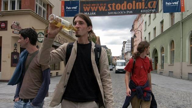Stodolní ulice v Ostravě