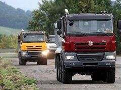 Tatra Phoenix – nákladní automobil kopřivnické automobilky. Ilustrační foto.