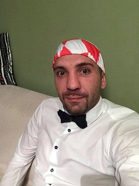Davor Kukec jako velký fanoušek Chorvatska.