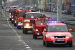Výročí 70 let od založení profesionálního hasičského sboru v Ostravě.