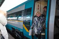 Mňam vlak Grand Restaurant Festivalu zavítal tento víkend do Ostravy. Na palubě má osmadvacet milovníků dobrého jídla, včetně organizátora akce Pavla Maurera.