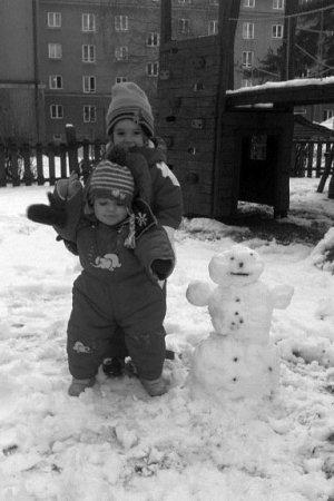 Sněhulák zOstravy-Poruby