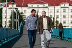 Václav Svěrkoš a jeho právní zástupce Petr Kausta ušli společně dlouhou cestu, na jejímž konci je dohoda o narovnání sporů mezi útočníkem, bývalými majiteli Baníku i samotným klubem.