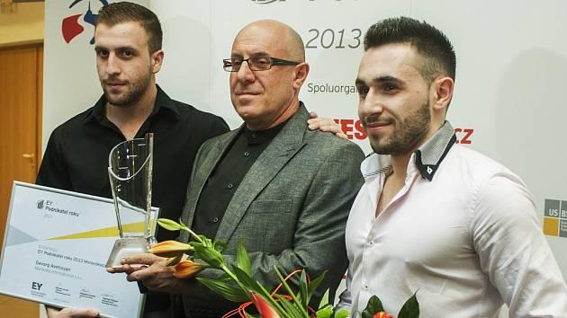 Podnikatel roku 2013. Gevorg Avetisyan, majitel společnosti Marlenka international.