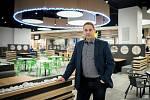 Manažer ostravského nákupního centra Futurum Tomáš Jelínek, prosinec 2018. Ilustrační foto.