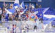 Předehrávka 42. kola hokejové extraligy: HC Vítkovice Ridera - BK Mladá Boleslav, 4. prosince 2018 v Ostravě. Na snímku fanoušci Vítkovic