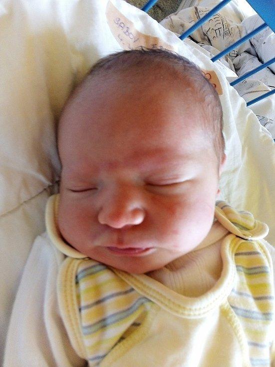 Erik Sabov, Krnov, narozen 4. dubna 2021, míra 50 cm, váha 3190 g Foto: Pavla Hrabovská