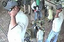 Pachatelé na záběrech kamery