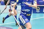 Pohár mistrů ve florbalu, finále (ženy): Täby FC - Kloten-Dietlikon Jets, 12. ledna 2020 v Ostravě.  Na snímku Natálie Martináková.