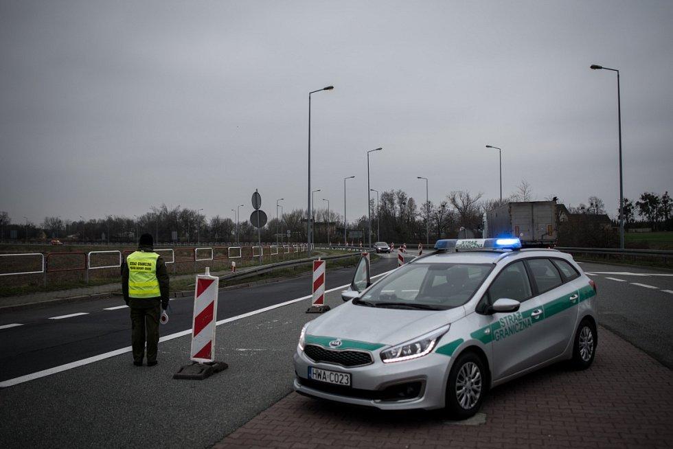 Kontroly na hranicích s Polskem, listopad 2018.