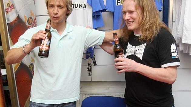Křtu piva Bazal se ujal Rudolf Otepka.