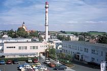 Pohled na areál Lanexu z konce devadesátých let.