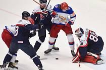 Slováci potrápili Rusko. To je nakonec přetlačilo v prodloužení 3:2.