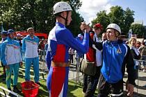 V Ostravě začal ve středu na Černé louce hasičský světový šampionát dospělých a dorostu.