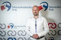 Politik Lukáš Curylo při focení pro Deník, červenec 2020 v Ostravě.