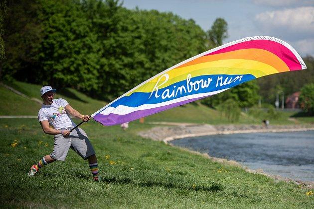 Roman Fučík. Zbývalého policisty  se stal úspěšný organizátor, jehož akce si užily už tisíce lidí. Spokey Rainbow Run se vDolní oblastí Vítkovic poběží 26.května.