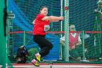 Zlatá tretra Ostrava 2018. Hammer throw, kladivo ženy, Wang Zheng