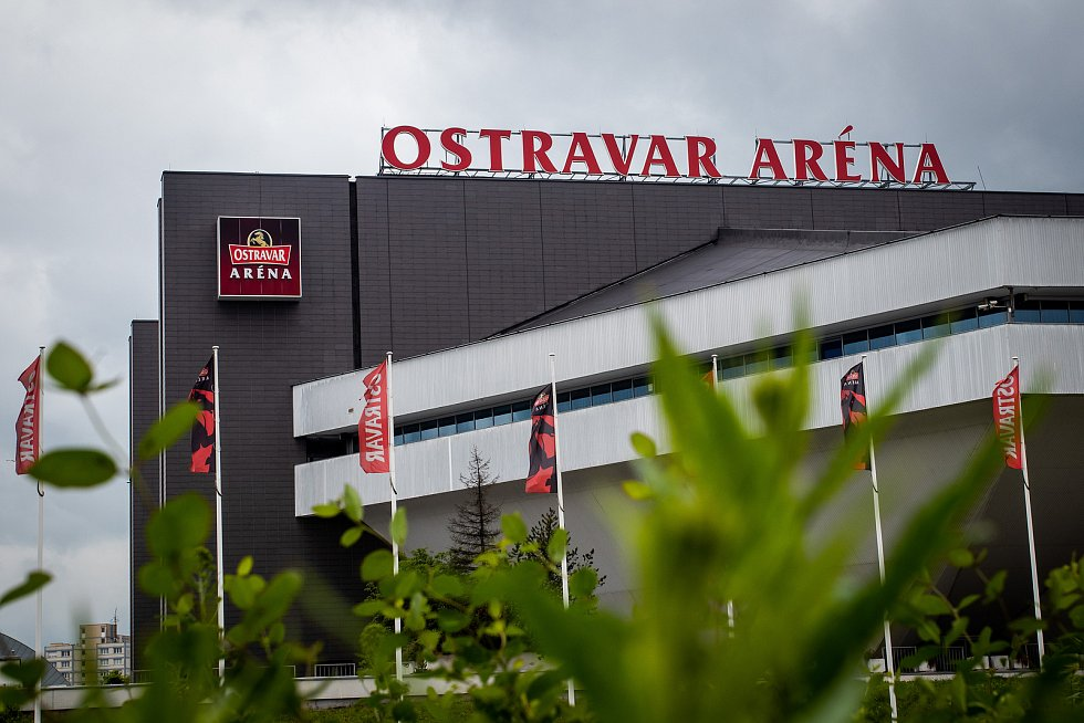 Ostravar Aréna. Ilustrační foto.