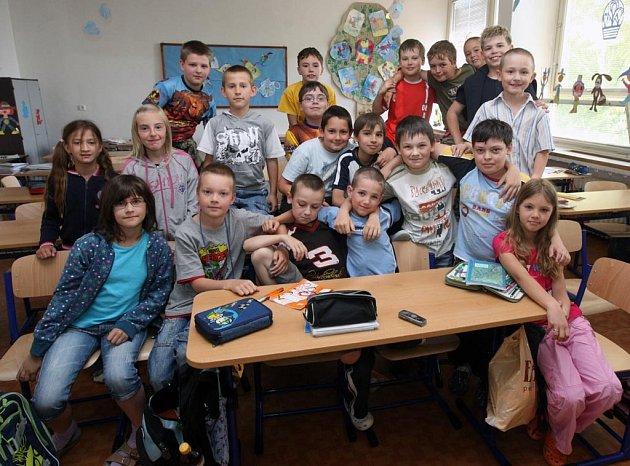 Třeťáci ze ZŠ A.Hrdličky v Ostravě-Porubě