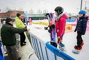 Olympijský festival v Ostravě, neděle 11. února 2018. Disciplína snowboard