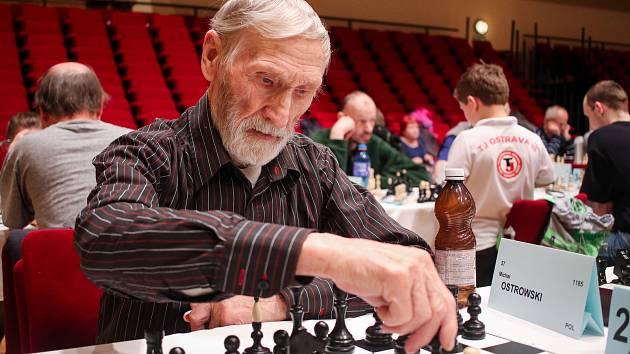 Šachový Ostravský koník, 1. května 2019 v Ostravě. Na snímku Michal Ostrowski.
