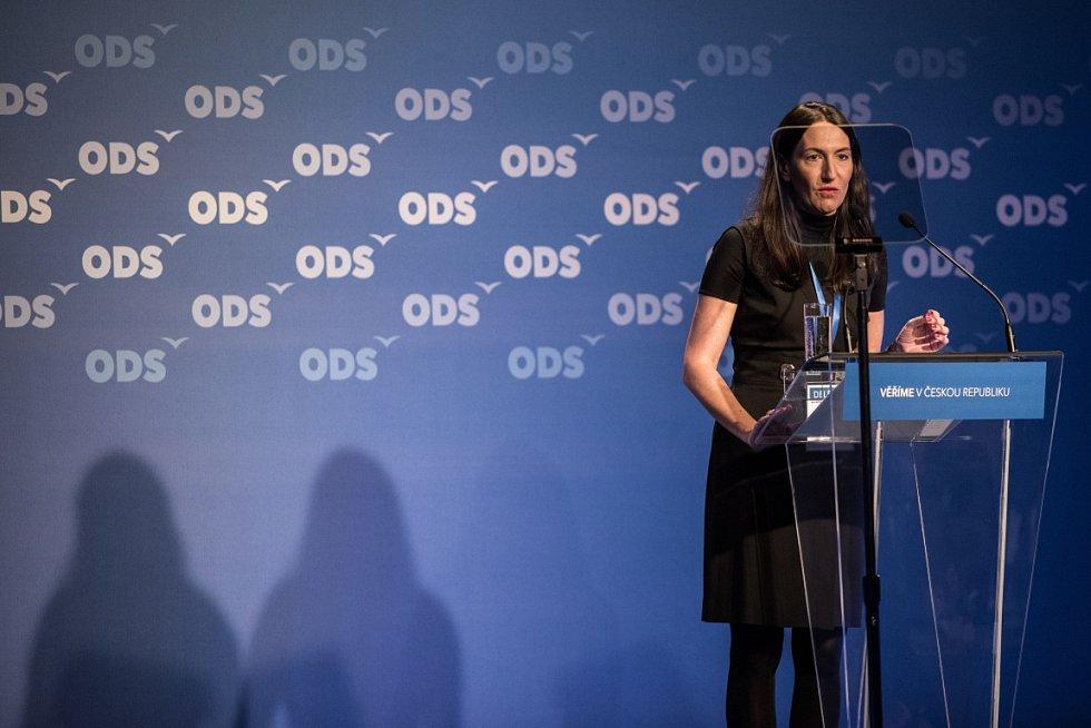 Alexandra Udženija. Snímek z 27. kongresu ODS v Ostravě.