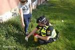 Součástí každodenní práce ostravských strážníků je i sběr použitých injekčních stříkaček a jehel. Jen od začátku letošního roku jich strážníci v ostravských ulicích sesbírali celkem 1031 kusů.