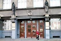 Budova Krajského soudu v Ostravě