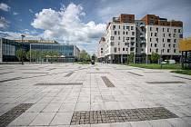 Okolí obchodního centra Forum Nová Karolina. Ilustrační foto.