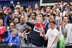 Superfinále play off extraligy žen - 1. SC TEMPISH Vítkovice - FAT PIPE Florbal Chodov, 14. dubna 2019 v Ostravě. Na snímku fanoušci.