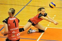 Challenge Cup volejbalistek - 1. zápas čtvrtfinále:  TJ Ostrava - Dinamo Krasnodar 1:3