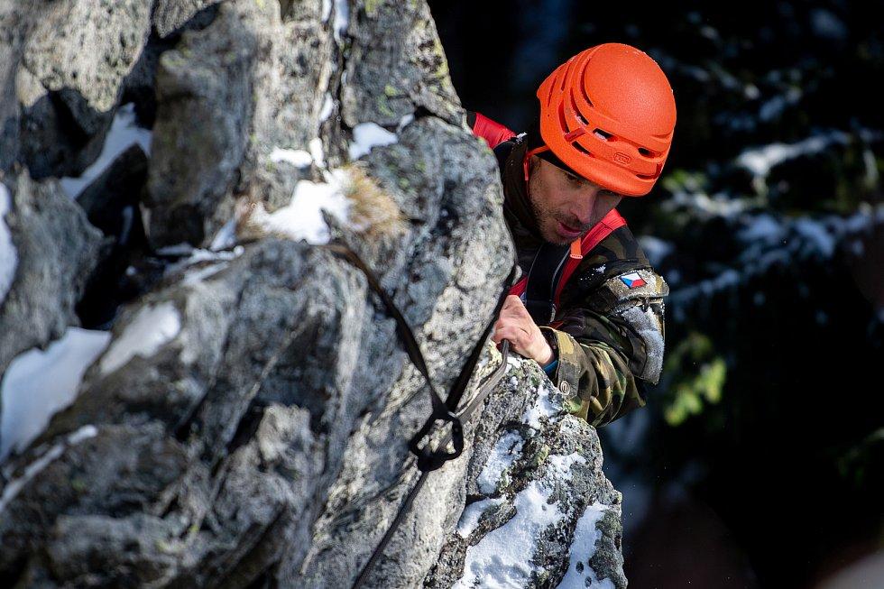 Mezinárodní armádní přebor v zimním přírodním víceboji s názvem Winter Survival 2020, 29. ledna 2020 v Karlové Studánce.