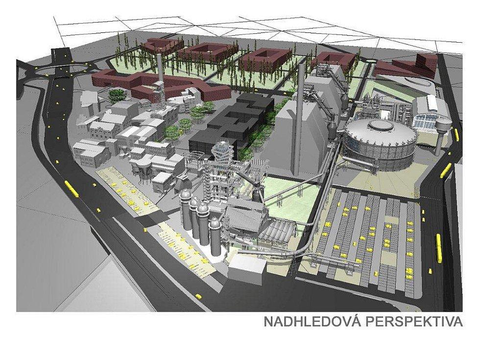 Vizualizace unikátního projektu. Moravskoslezské vědecké knihovny v bývalé koksovně v Dolní oblasti Vítkovic.