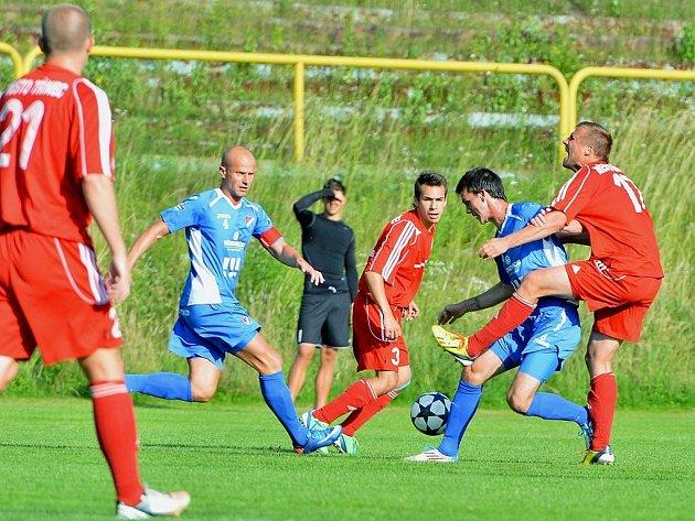 Třinec - Baník, přípravné fotbalové utkání