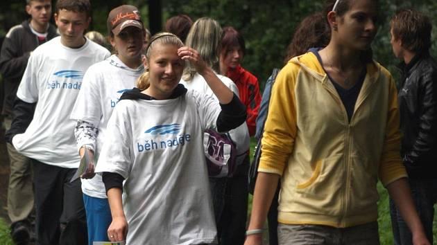 Běh naděje se již druhým rokem konal v ostravském Bělském lese